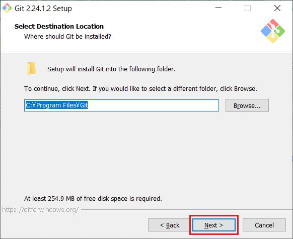Install of Git for Windows -03