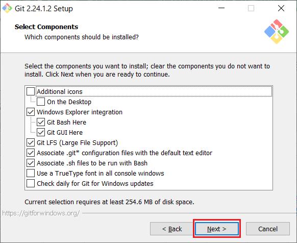 Install of Git for Windows -04