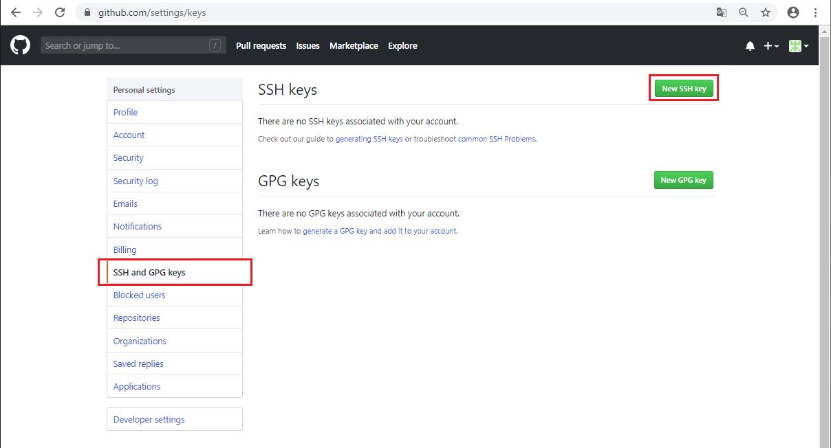 GitHubにSSH接続する準備 -05