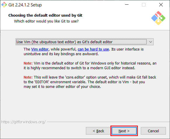Install of Git for Windows -06
