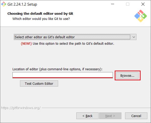 Install of Git for Windows -07