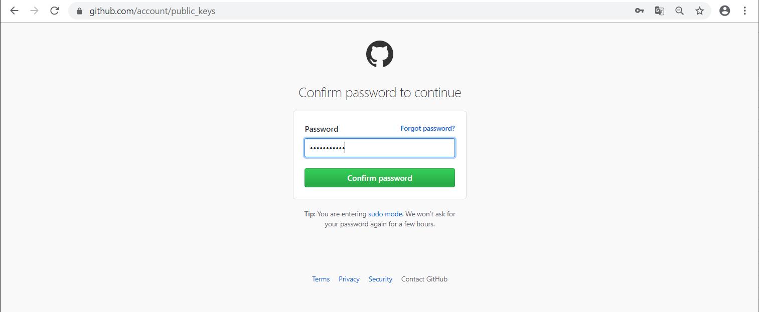 GitHubにSSH接続する準備 -07
