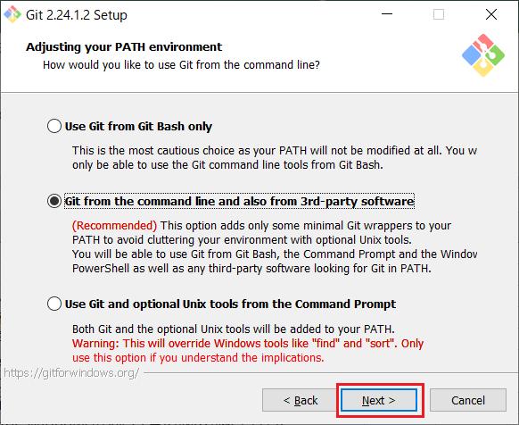 Install of Git for Windows -08