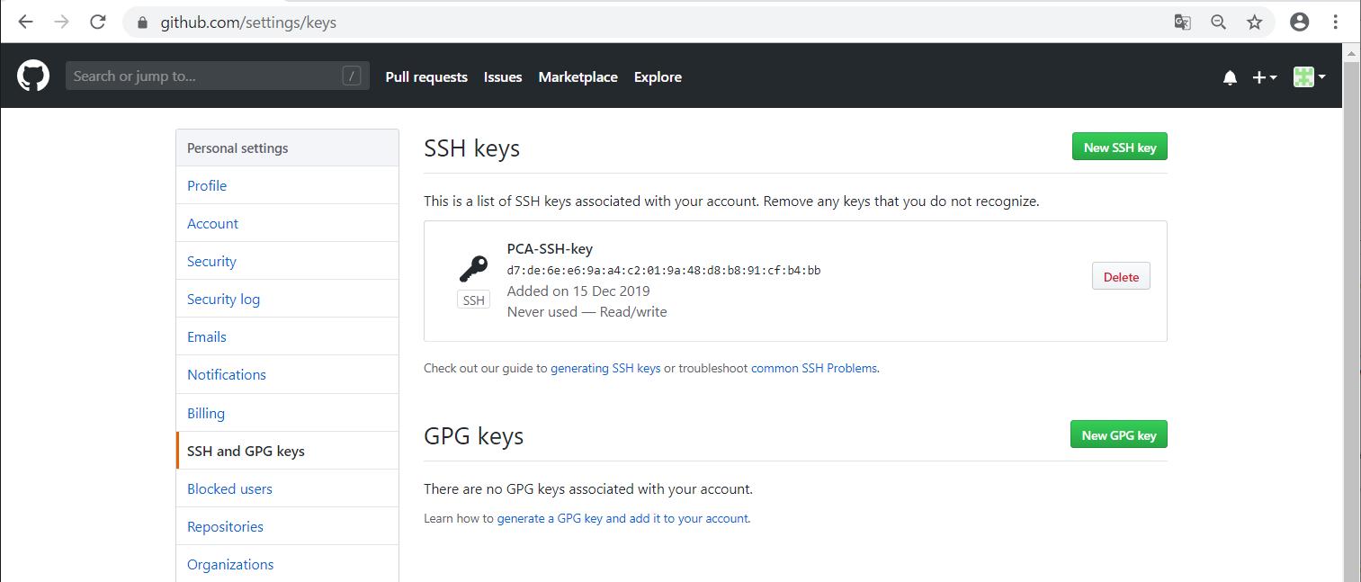 GitHubにSSH接続する準備 -08