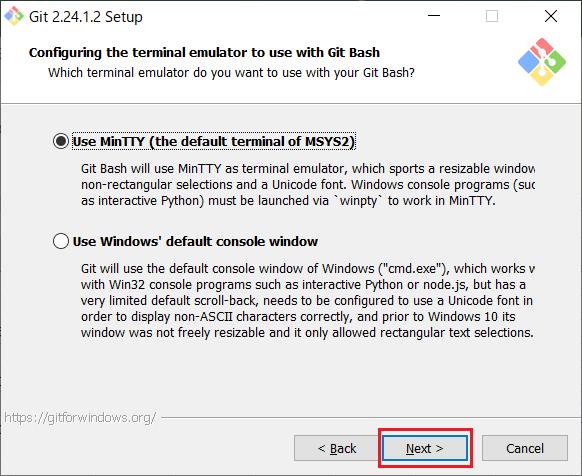Install of Git for Windows -11