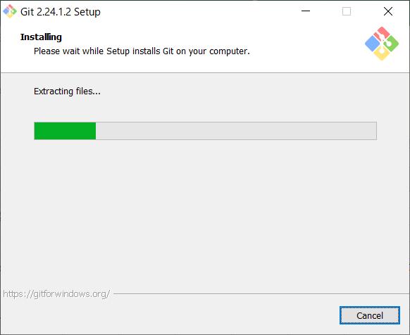 Install of Git for Windows -15
