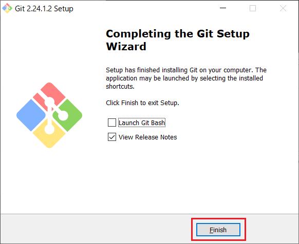 Install of Git for Windows -16