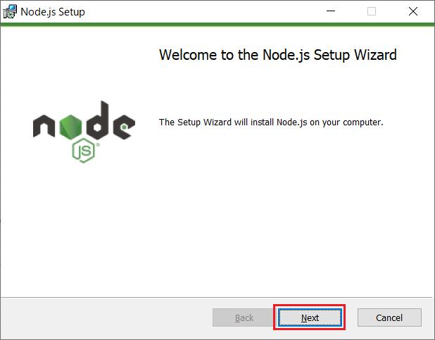 Node.js(npm)のインストール02