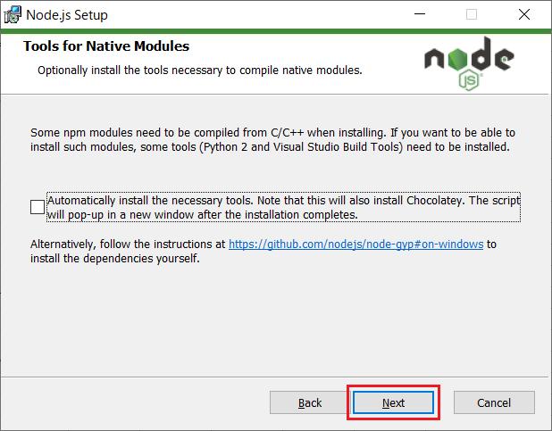 Node.js(npm)のインストール06