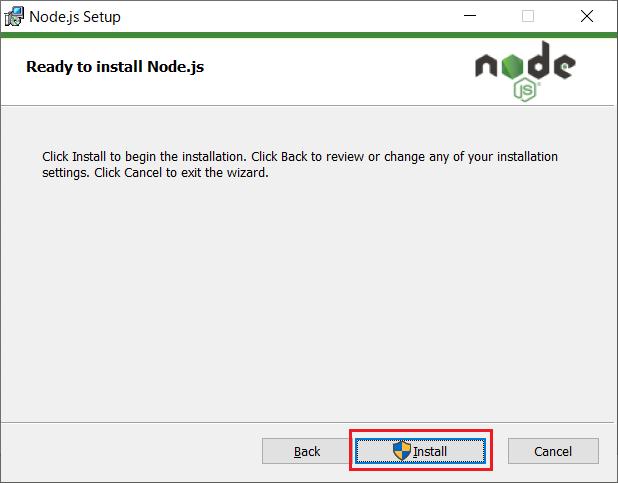 Node.js(npm)のインストール07