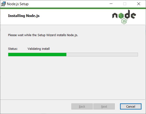 Node.js(npm)のインストール08