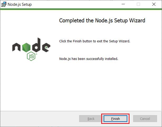 Node.js(npm)のインストール09