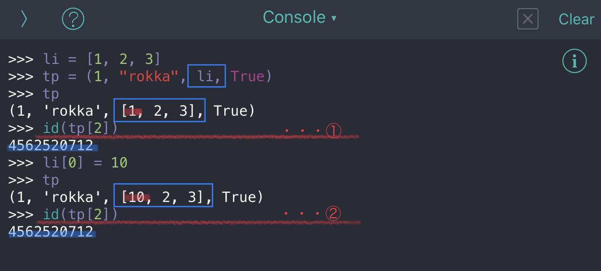 Python tuple no05