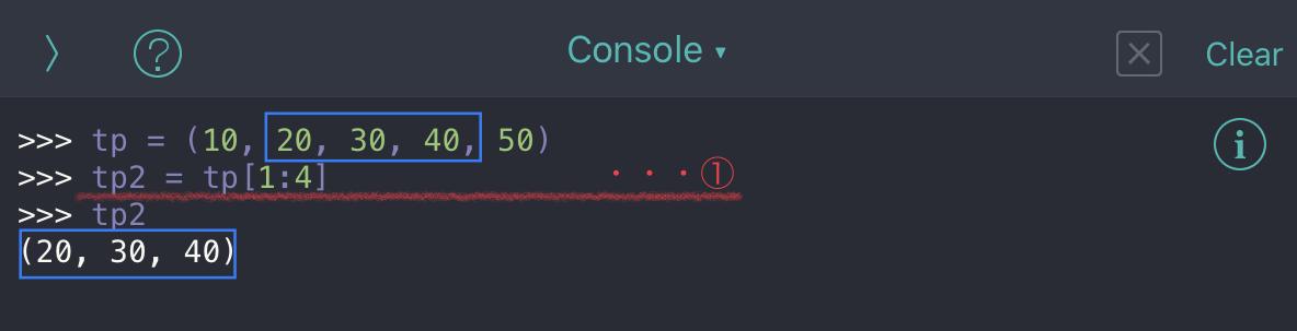 Python tuple no09