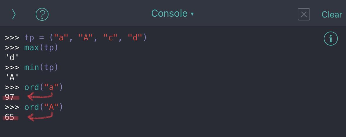 Python tuple no12